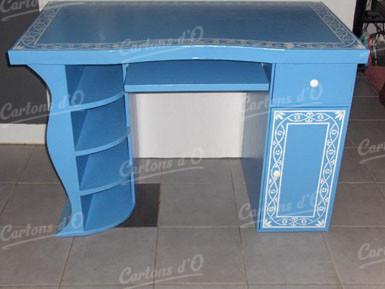 Bureau «Touch» bleu
