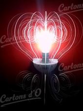 Lampe en Acrylique en applique