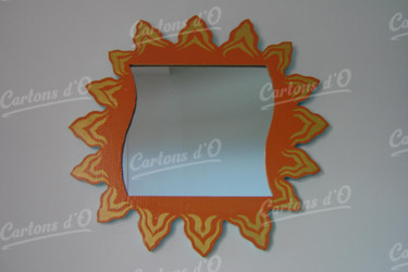 Miroir orange