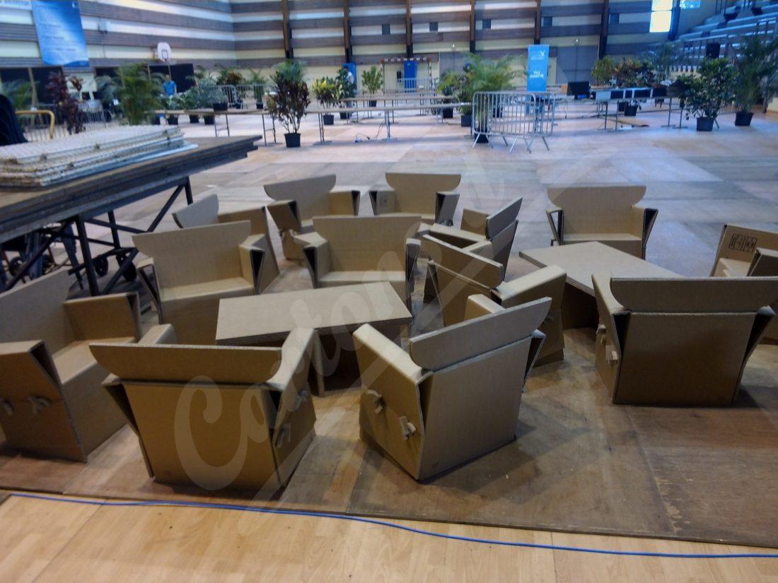 fauteuils démontables